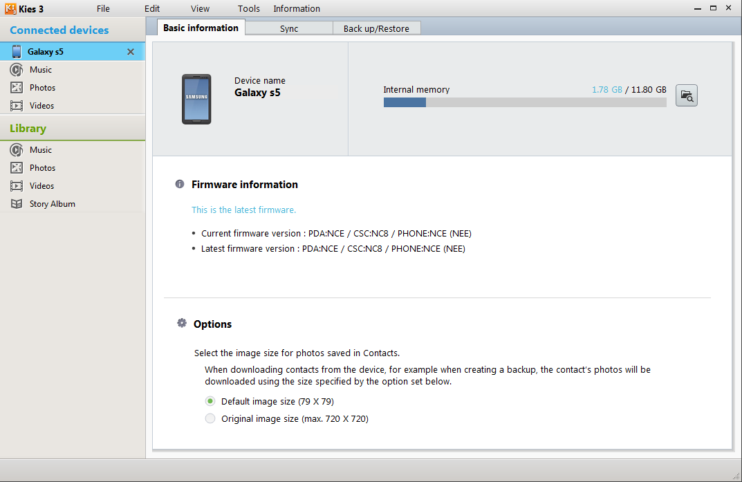 Cannot Update Samsung Galaxy S5 Firmware with Kies | Seber Tech