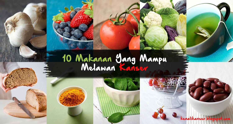 10 makanan anti kanser