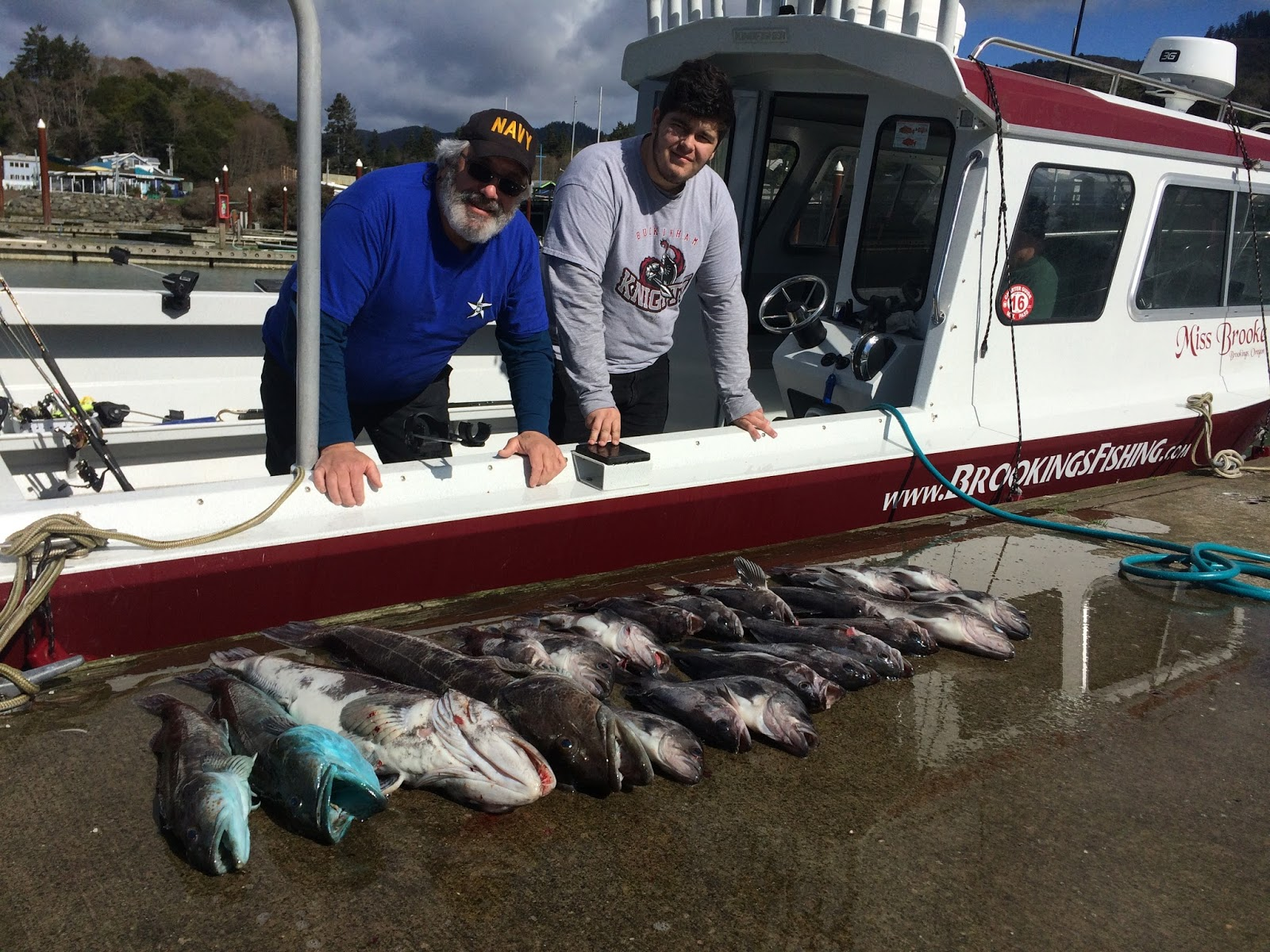 Brookings oregon fishing charters 2017 brookings ocean for Oregon fishing license cost 2017