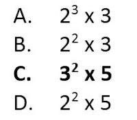 50  Contoh Soal Bilangan Bulat dan Jawabannya (MTK SD K13)