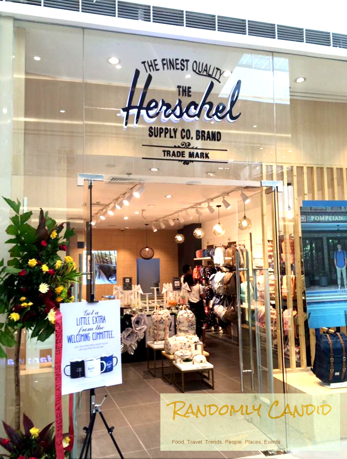 f2c5b26abe The long wait is over for Ilonggo bag and travel apparel aficionados!  Herschel Supply Co. Brand is finally here in Iloilo!