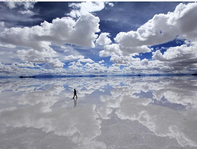 BOLÍVIA - SALAR DE UYUNI - A MAIOR PLANÍCIE DE SAL DO MUNDO