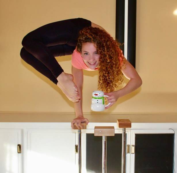 Wonderful,Overhuman Pitures of Flexible Sofie Dossi