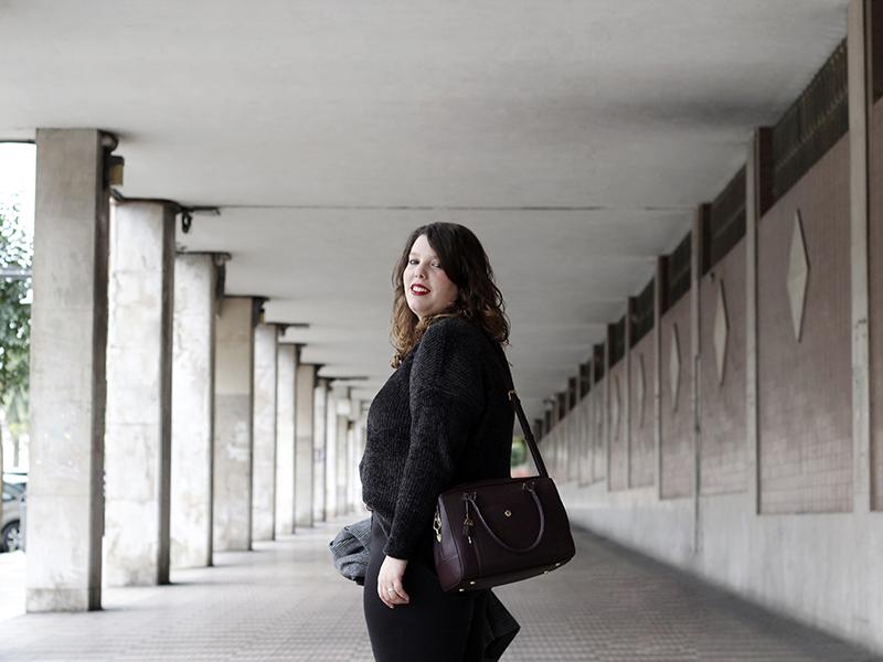 Collage of Style - Almudena Duran Arnaiz - Basicos en negro y granate II