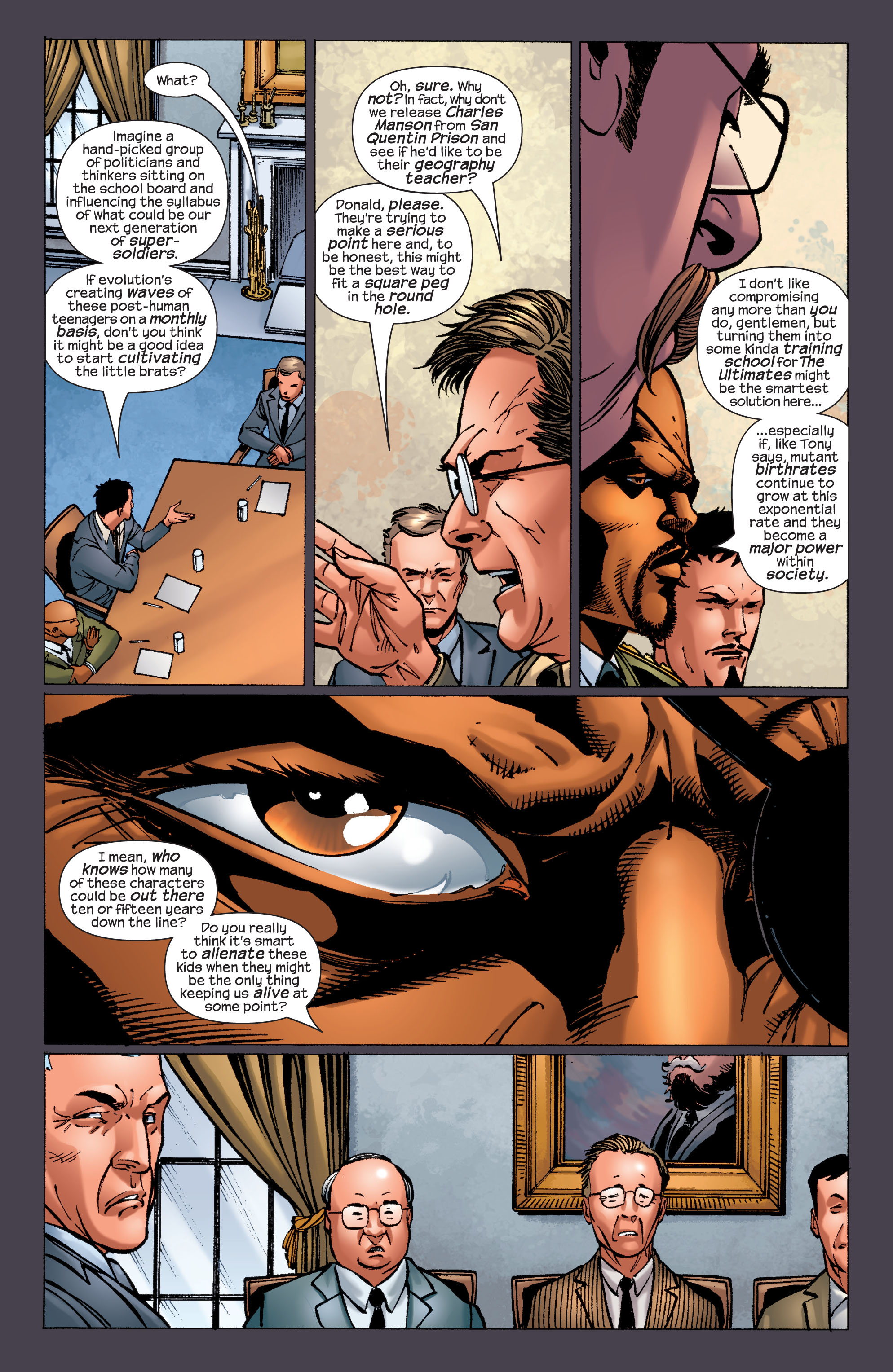 Read online Ultimate X-Men comic -  Issue #32 - 11