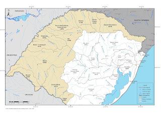 Uruguai, Argentina, Rio Grande do Sul e Santa Catarina