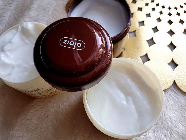 Ziaja maski do włosów masło kakaowe olejek arganowy tsubaki olejek amarantusowy kuracja kaszmirowa