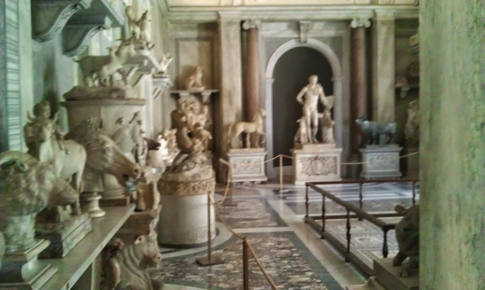 The Garden of Statues - Vatican Museum