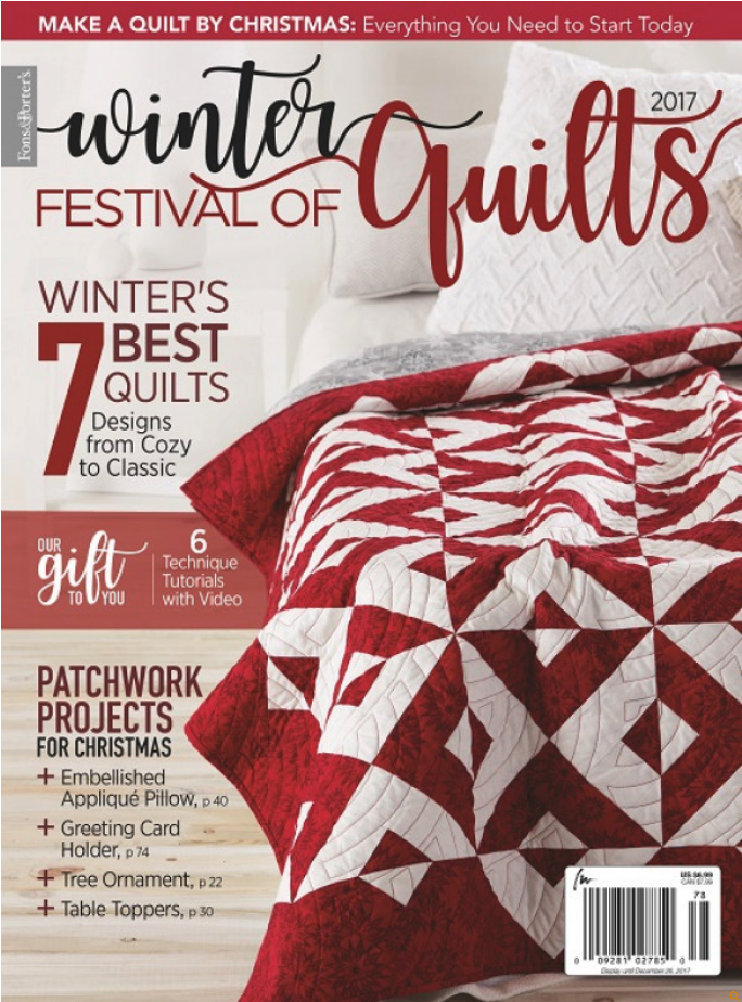 Sew in Love {with Fabric}: Holiday Magic: More Quilt Inspiration : quilt it for christmas magazine - Adamdwight.com