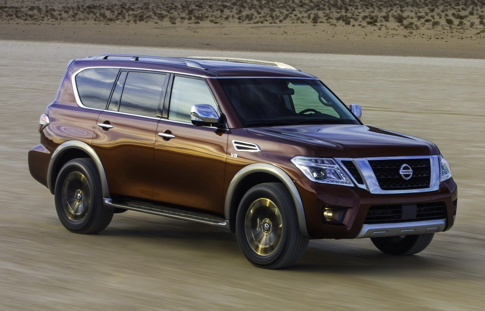 2017 nissan armada is north america s patrol or the infiniti qx80 39 s less glitzy twin. Black Bedroom Furniture Sets. Home Design Ideas