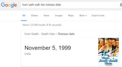 Hal Menarik yang Bisa Di lakukan Google Search - Jadwal Tayang FILM