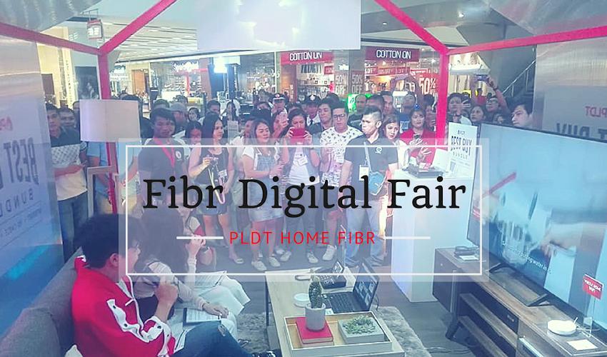 PLDT Fibr Digital Fair Set in Davao City #PLDTHomeFibr #FibrDigitalFair