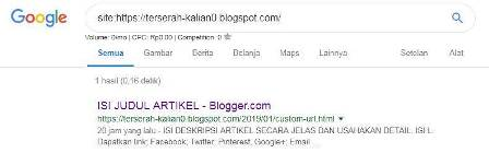 Cara Jitu agar Artikel Blog Cepat Terindex oleh Google