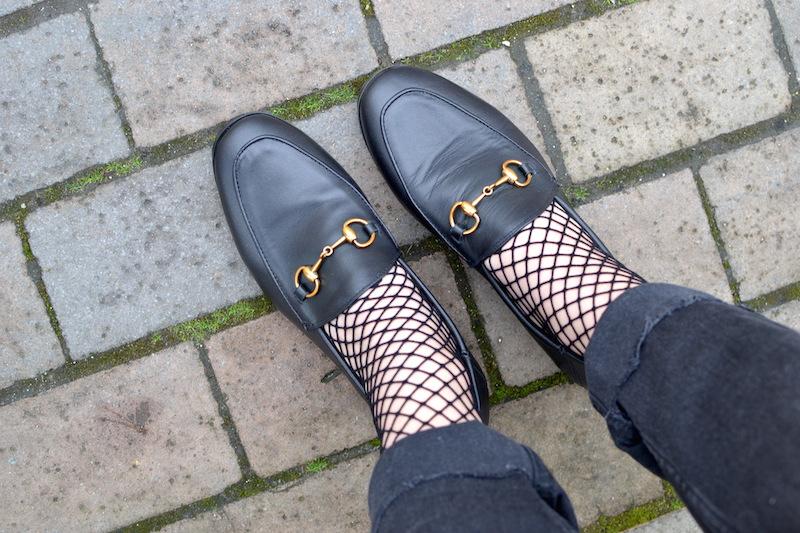chaussettes résille noir ASOS