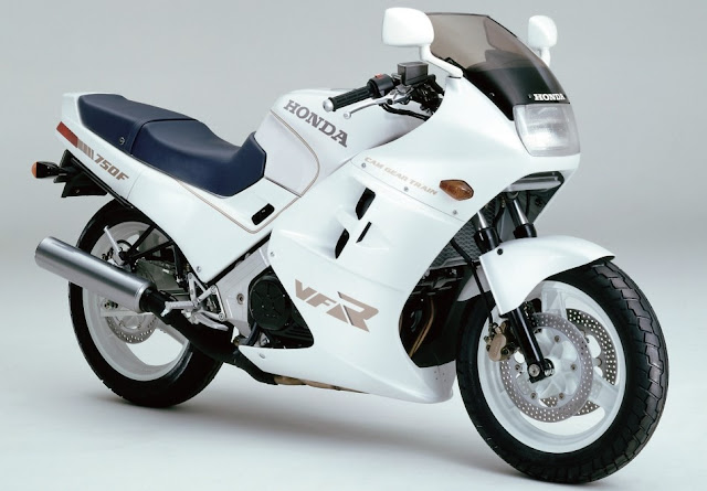 Honda VFR 750F 1980s Japanese sports bike