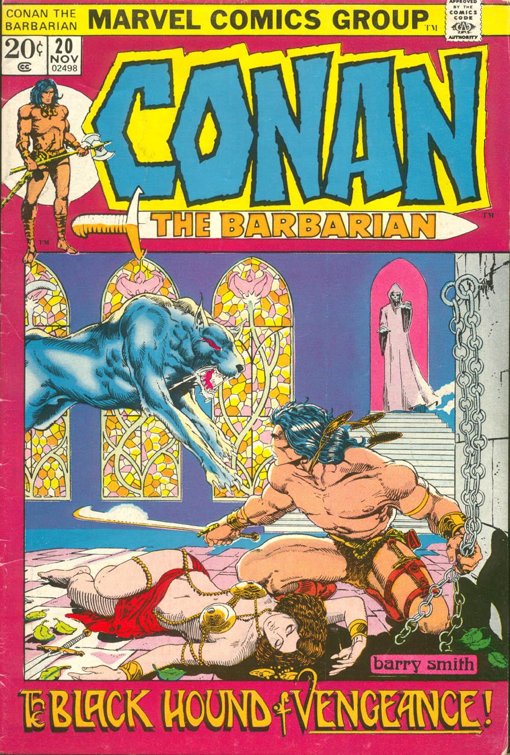 Conan the Barbarian (1970) 20 Page 1