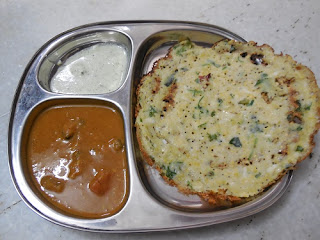 Thavalai Dosai – A Pan Cake Cooked In Thavalai/Heavy Vessel