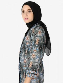 Model Baju Batik Muslim Untuk Wanita Terbaru