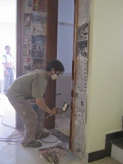 thợ mộc sơn sửa cửa gỗ tại nhà