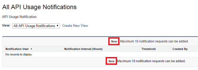 Infallible Techie: API Usage Notifications in Salesforce
