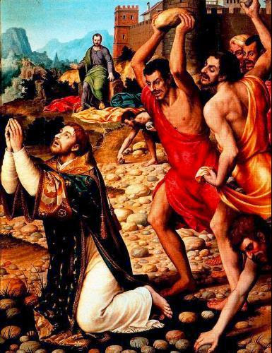 Resultado de imagem para martirio de estevao