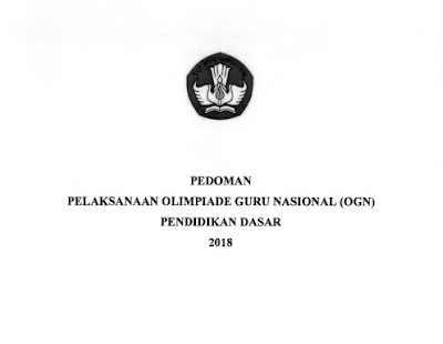 Pedoman OGN SD SMP 2018 versi Final