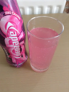 lucozade zero pink lemonade