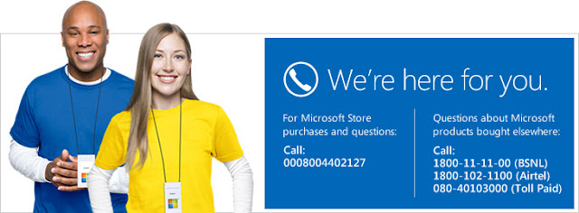 Nokia/ Microsift Customer Care Contact Number