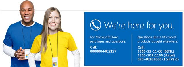 Microsoft Lumia Nokia Customer Care Contact Number Toll Free
