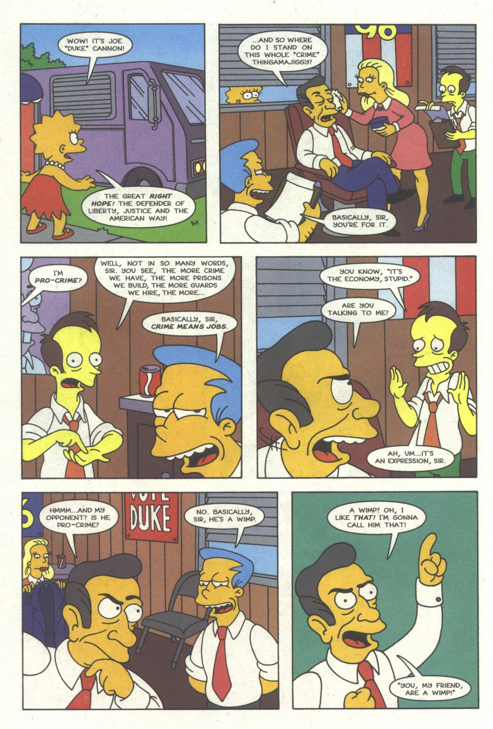 Read online Simpsons Comics comic -  Issue #24 - 11