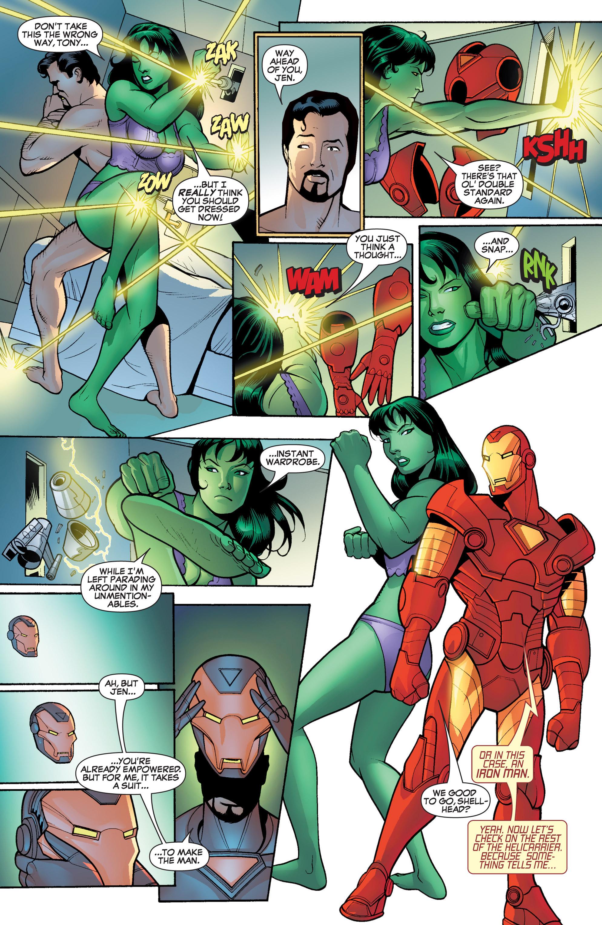 Read online She-Hulk (2005) comic -  Issue #17 - 10