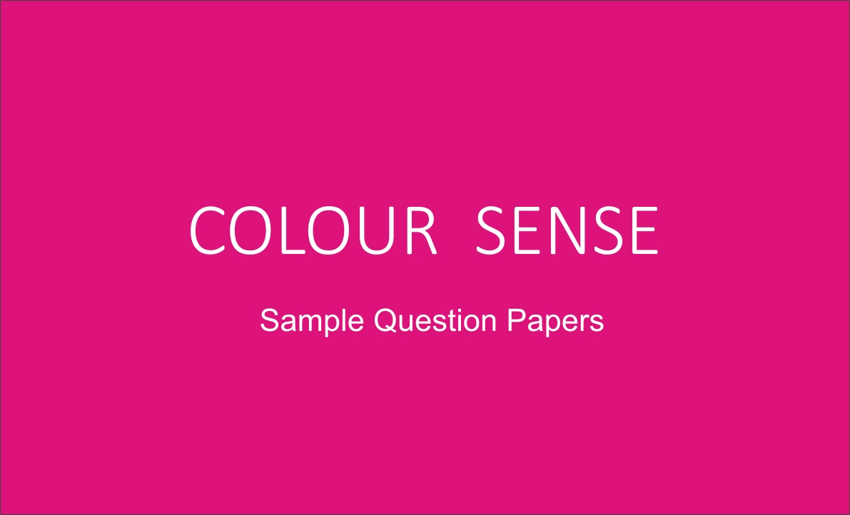 color sense sample questions of nift/nid - DEZINE HELPER by DA