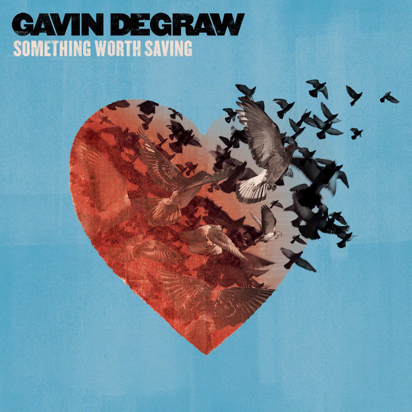 Gavin DeGraw - Something Worth Saving Cover
