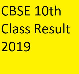 CBSE 10th 2019 Result