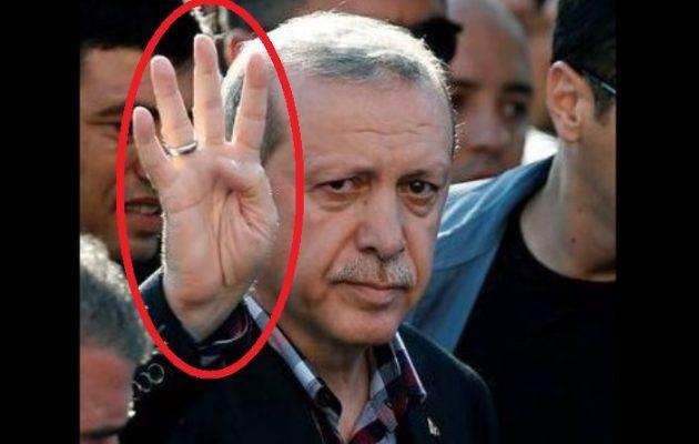 Τι σημαίνει η χειρονομία που έκανε ο Ερντογάν – Σε ποιους «απευθύνεται»!