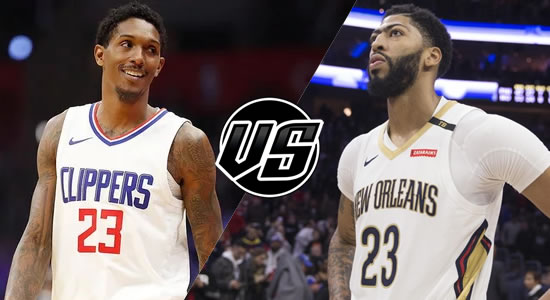 Live Streaming List: LA Clippers vs New Orleans Pelicans 2018-2019 NBA Season
