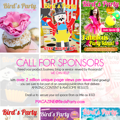 Bird's Party Magazine | Call for Party Shops