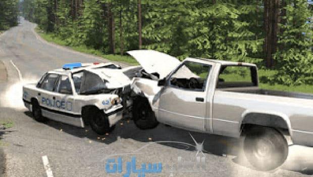 لعبة BeamNG Drive مضغوطة