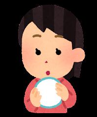 五感のイラスト(触角・女性)