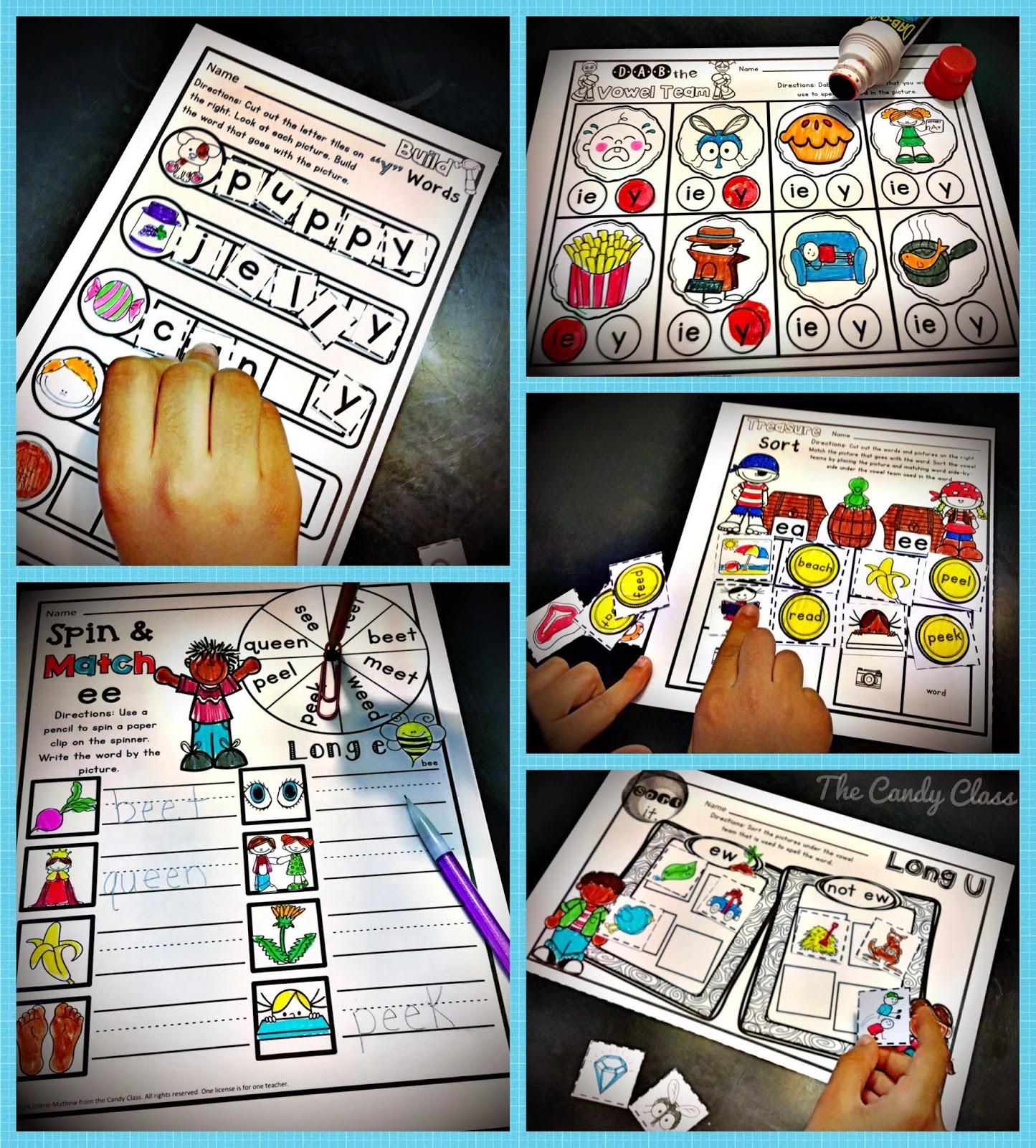 Oa Oe Ow Oa Oe The Vowel Teams Candy Class Blog