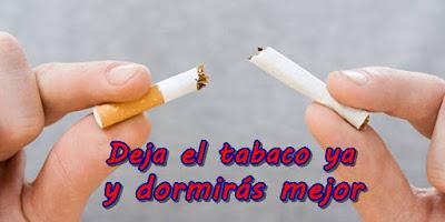 Deja de fumar y dormirás mejor