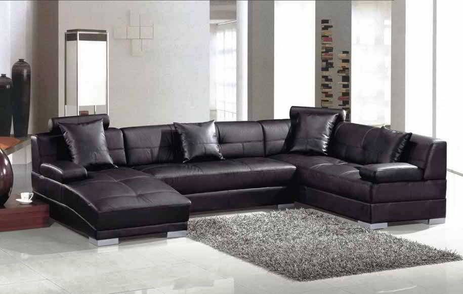 Gambar Sofa Minimalis Hitam Klasik