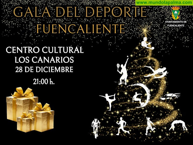 Fuencaliente reconoce a los deportistas del municipio en la segunda edición de la Gala del Deporte