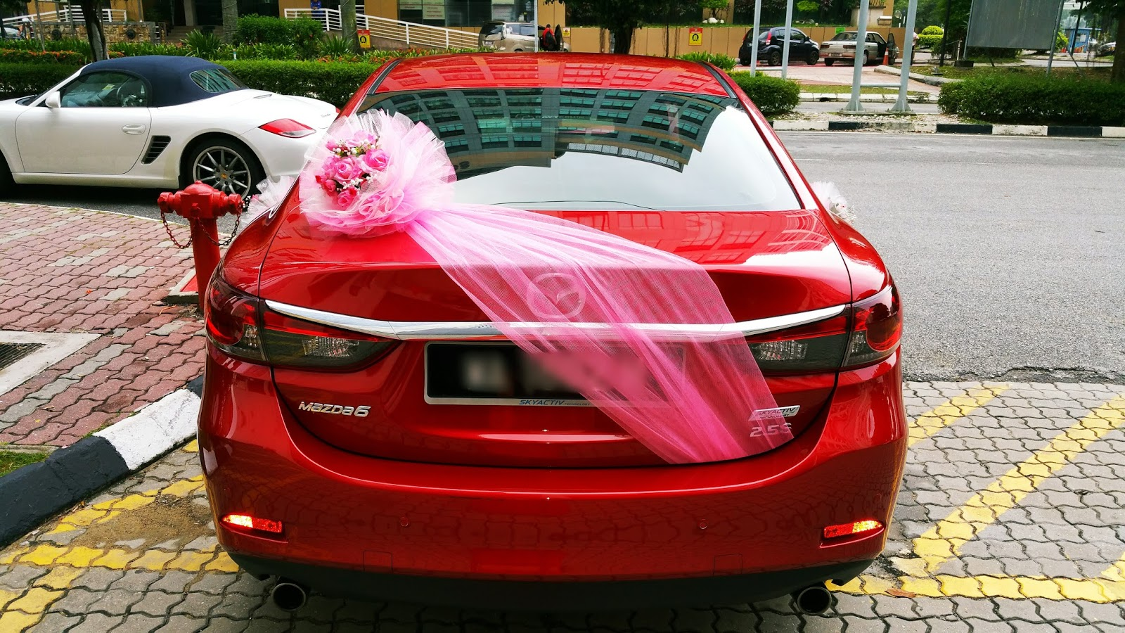 Redorca malaysia wedding and event car rental wedding car for Automobile decorations home