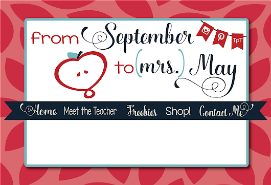 Blog Design: From Sept. To (Mrs.) May