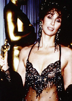Cher at the Oscar awards
