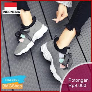NAG066 Sepatu Adidas Alphabounce Joging Senam Santai Murah Bmgshop