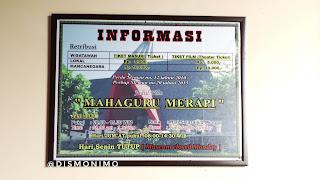 Harga Tiket Masuk dan Jam Operasional Museum Gunung Merapi