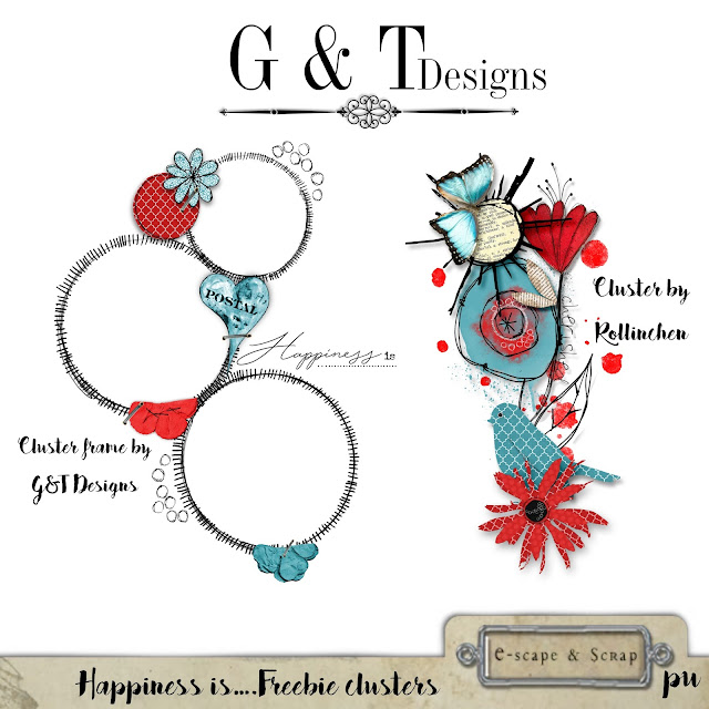 G&T Designs - Happiness is.....Kit plus Freebie