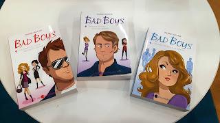 livres, romans, série Bad Boys, chick lit, trilogie
